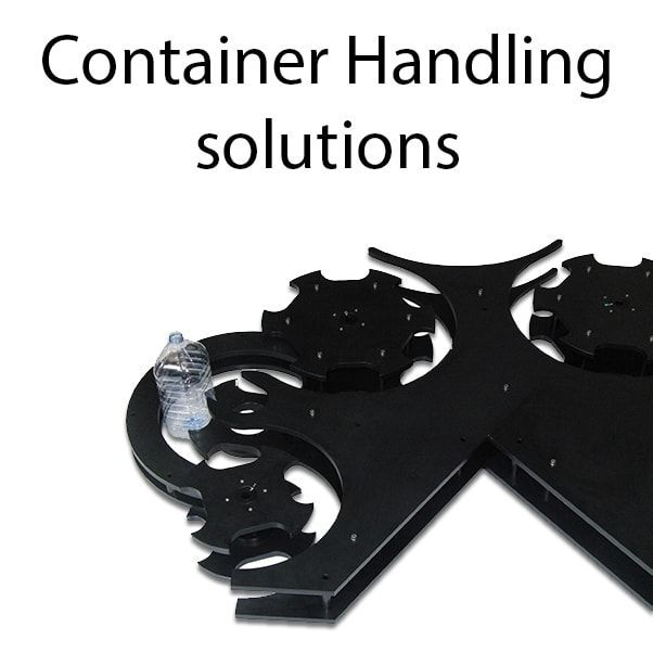 Container handling solutions - Auxiliary elements