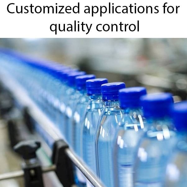 Customized applications for quality control min - Quality control by artificial vision