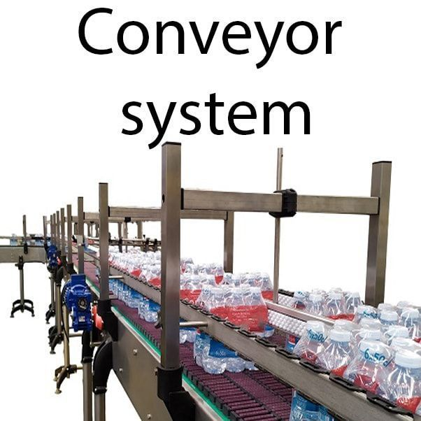 conveyor system min - Products for full package