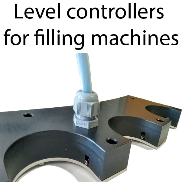 level controllers for filling machines min - Auxiliary elements